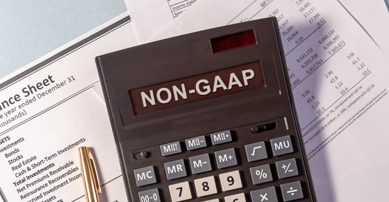 Non-GAAP Measures