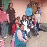 Click to enlarge. Maria Lourdes, Nuri, Juana, Laureana, Zulma, Daniel, Betzabe, Dorotea, Alejandrina, Veronica, Luciana, Julia .