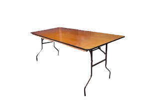 "6' x 30"" Banquet Table"
