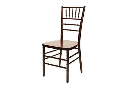 Mahogany Ballroom Chair