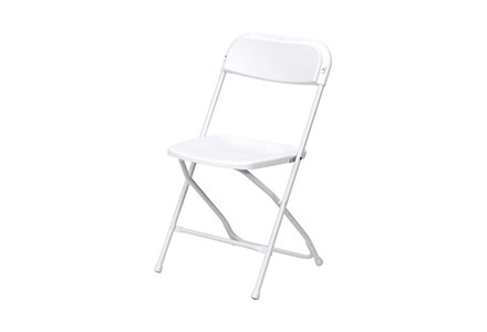 White Outdoor Folding Chair Web Medium