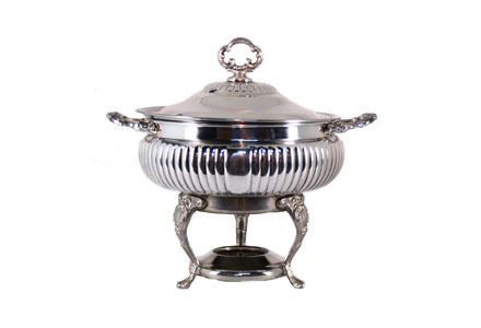 Queen Anne Chafing Dish