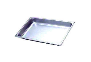 "2"" Stainless Steel Food Pan (for 8 qt. Chafing Dish)"