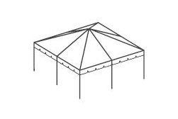 20 x 20 Frame Tent