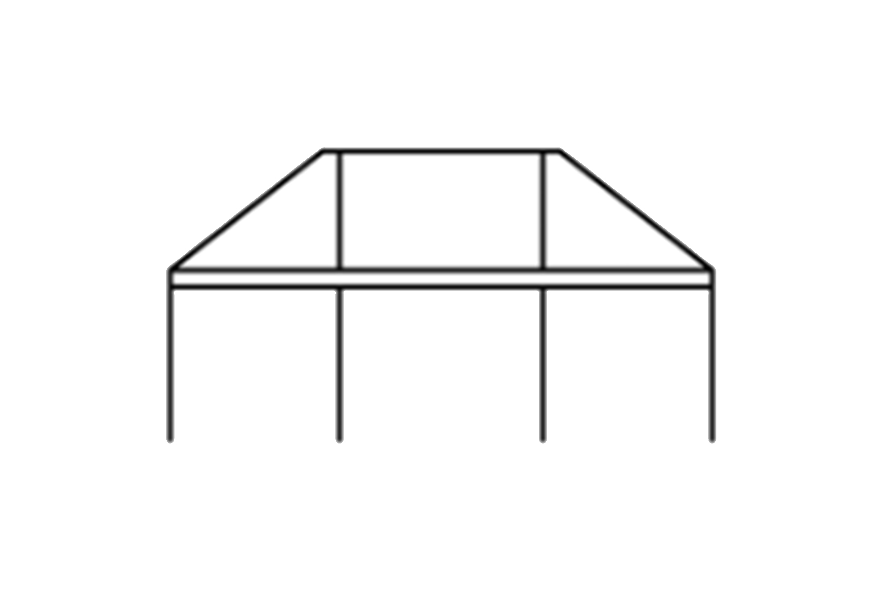 30 x 75 Frame Tent
