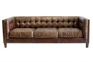 Abbott Leather Sofa