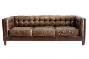 Abbott Leather Sofa