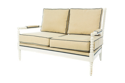 Shiloh Spindle Loveseat