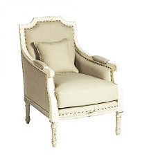 Louis Arm Chair in Natural