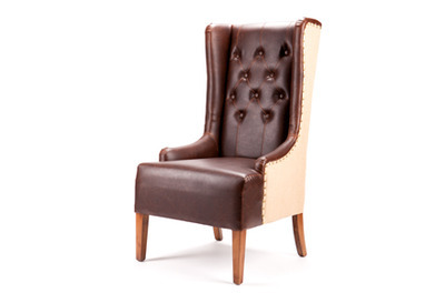 Snyder Riley Wing Back Chair Sm Small