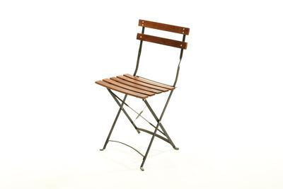 Eros Wood Steel folding Chair