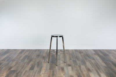 Polished Bar Stool Small