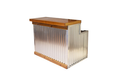 Galvanized Maude Bar Small