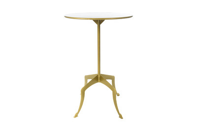 Eleanor Gold Cocktail Table Small