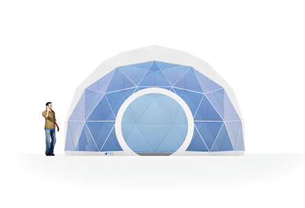 20ft Dome Tent