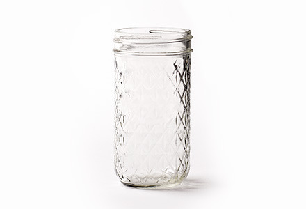 Glass Mason Jelly Jar