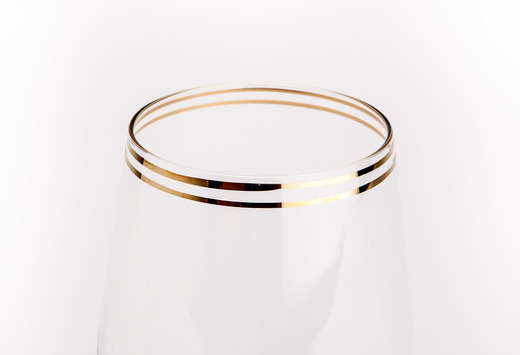 Snyder Diva Gold Water Goblet Detail Lg Medium