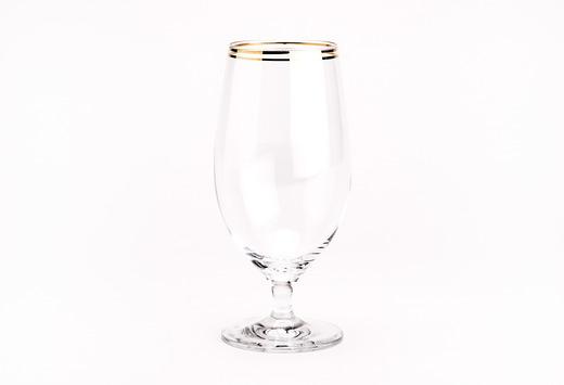 Diva Gold Rim Water Goblet