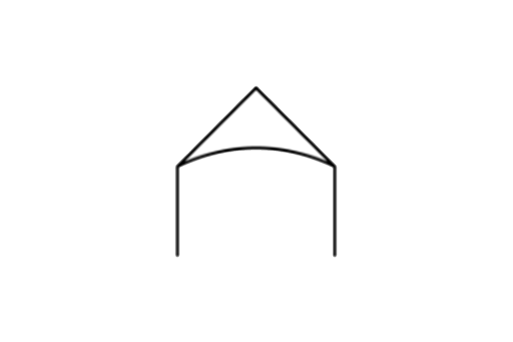30 x 20 Band Shell Frame Tent (Gable End)