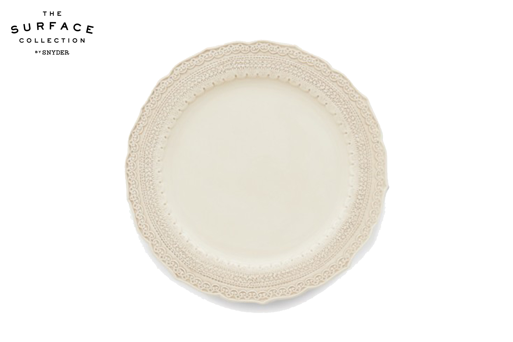 Cream Lace Dinner