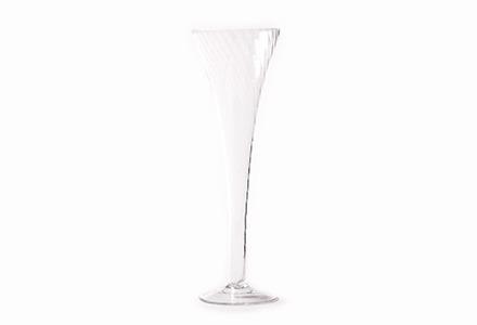Abigail Trumpet Champagne Flute