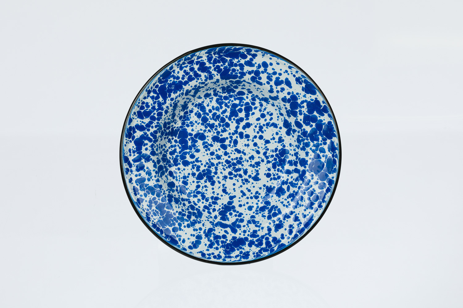 Tinware Salad Plate