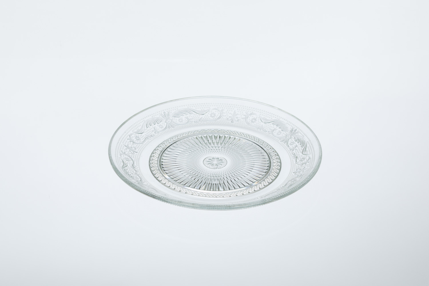 Soho Cut Glass Salad/Dessert Plate