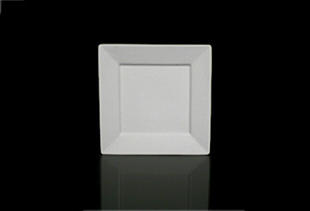 Square Bone Bread & Butter Plate