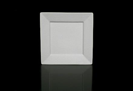 Square Bone Salad/Dessert Plate