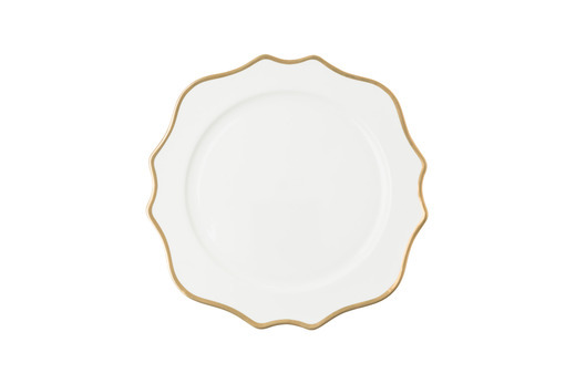 Isabella Gold Rim Dinner