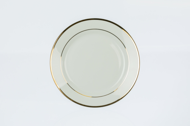 Gold Rim Salad/Dessert Plate