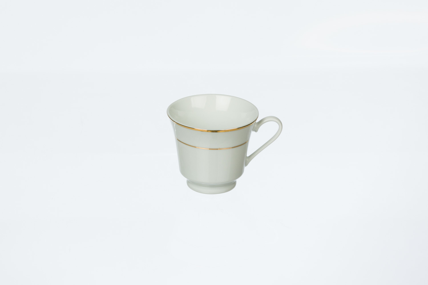 Gold Rim Coffee Cup