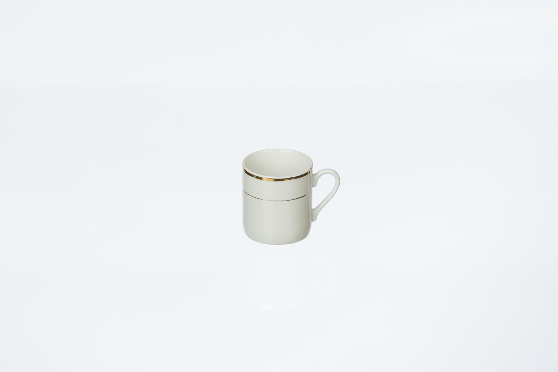 Gold Rim Demitasse Cup
