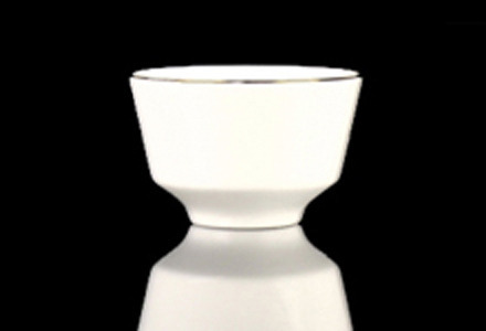 Gold Rim Bouillon Cup