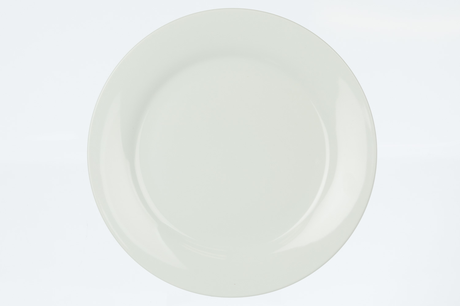 Solid White Dinner Plate