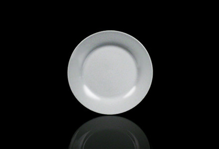 Solid White Salad/Dessert Plate