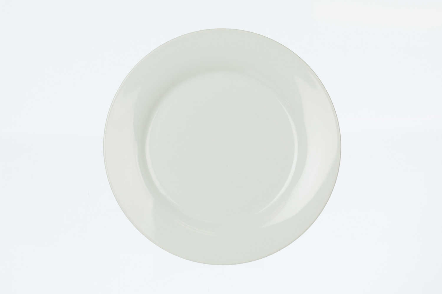 Solid White Luncheon Plate