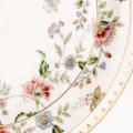 Set Gold Floral Detail Lg Medium