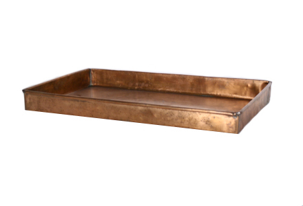 Copper Tray 009 (21 x 13 x 2)