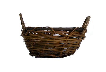 Wicker Basket 003 (11 x 11 x 15)