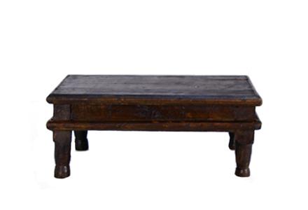 Wood Stand/ Platter 055 (14 x 14 x 6)