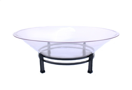 Ice Tray Round W/ Wrought Iron Base