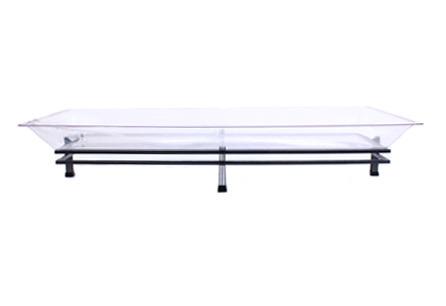 Ice Tray Rectangular w/ Wrought Iron Base