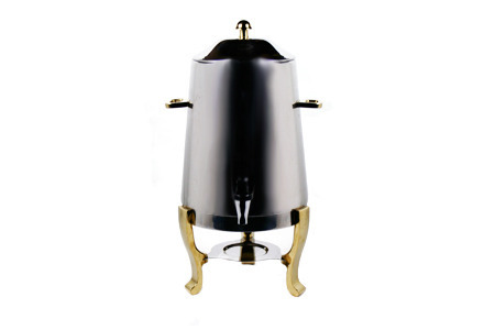 55 Cup Coffee Urn w/ Brass Trim