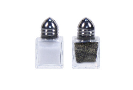 Cube Salt And Pepper Set (Filled)