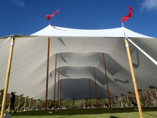 60x120 Sailcloth Tent & Tent - Sailcloth Tents | Snyder Events | Charleston SCu0027s premier ...