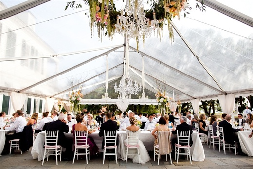 40 Wide Clear Top Gable & Tent - Clear Top Frame Tents | Snyder Events | Charleston SCu0027s ...