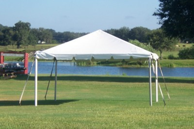 15 wide frame tent