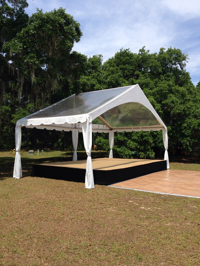 Tent Band Shell Tents Snyder Events Charleston Sc S