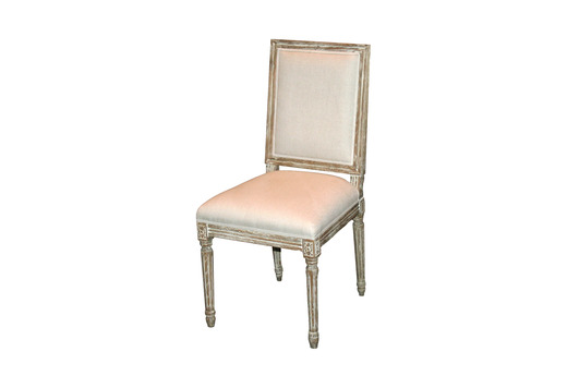 Louis XVI Grey Dining Chair